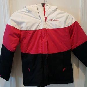 Kids Columbia snow jacket-0099